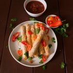 Air Fryer Recipes for Chicken Spicy Taquitos
