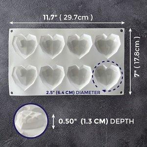 3d heart molds