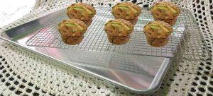 Walnut Zucchini healthy muffins recipe
