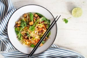 Healthy Noodle Recipe with Tofu