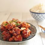 General Tso's Air Fried Chicken