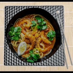 Shirataki Noodle Recipe Coconut Shrimp Laksa