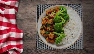 sheet pan dinner ideas tofu and broccoli