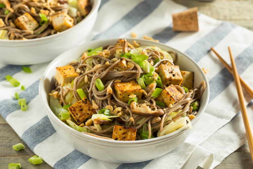 Tofu Soba Noodles