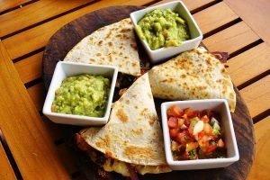Cheesy Quesadillas with Avocado