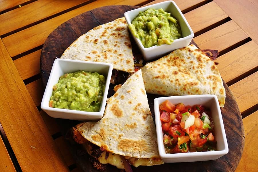 Cheesy Quesadillas with Avocado