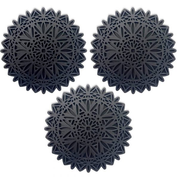 Decorative silicon trivet pads