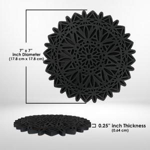 silicon trivet pads decorative