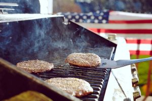 Fourth of July Recipes grilled burgers