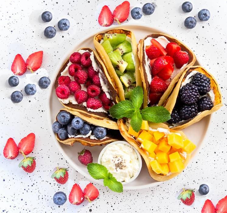 Fruity Breakfast Tacos1
