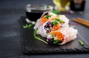 Healthy Vietnamese Spring Rolls Recipe