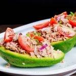 Chicken Salad Avocado Slices