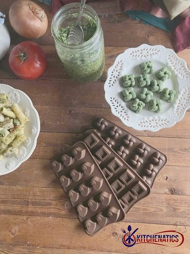 kitchen hacks with silicone molds