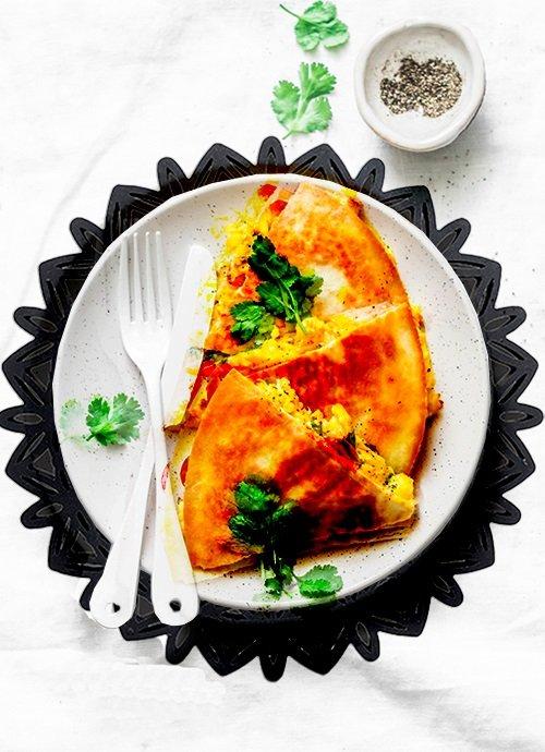 easy breakfast quesadillas recipe